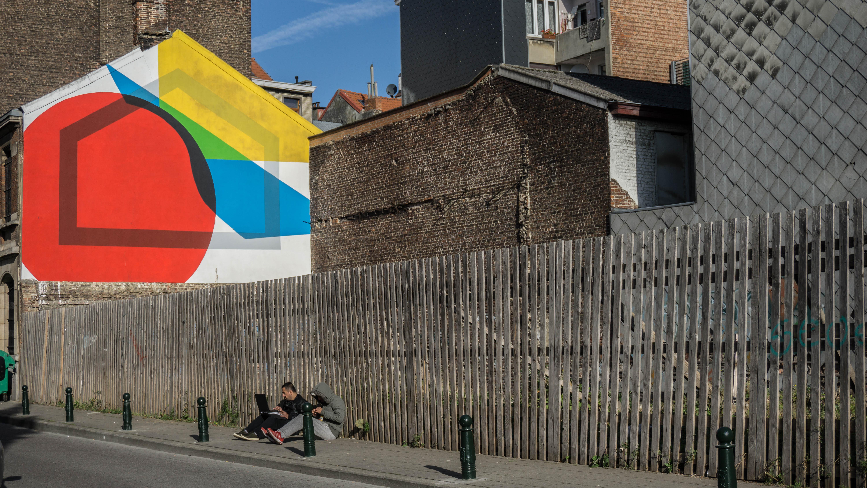 Molenbeek-Saint-Jean, Bruselas. Octubre 2016.